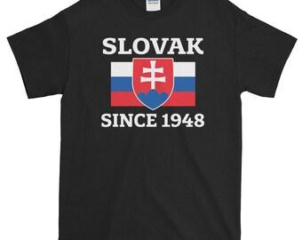 Slovakia, Slovak, Slovakia gift, 70th Birthday, Slovak Flag, Slovakia Shirt, Slovakian, Made in Slovakia, Flag of Slovakia, 1948 Shirt