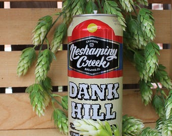 Beer Candle Neshaminy Creek Dank Hill Upcycled 100% Soy Wax. 16 oz. Craft Beer Gifts Groomsmen Gifts Housewarming Gifts Birthday Gift