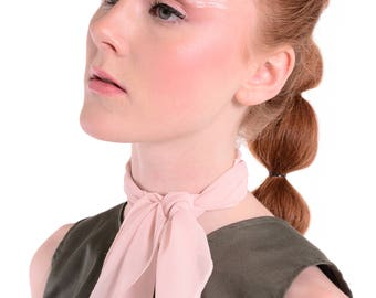 50% SALE - Blush Pink Neckerchief