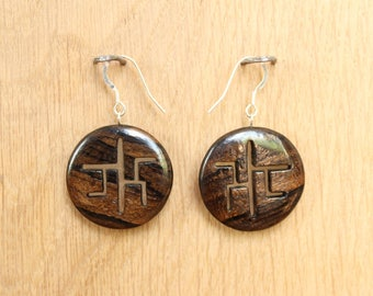 """Chinoiserie"" - Jewelry - Silver 925 earrings"
