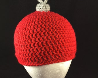 Christmas Ornament Hat, ugly christmas sweater hat, Newborn Holiday Hat, Christmas Photo Prop, Christmas Family Hats