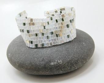 Limelight Forest Beadwoven Bracelet