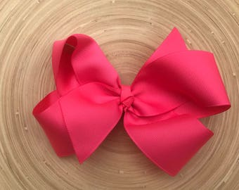 Passion pink large Boutique bow