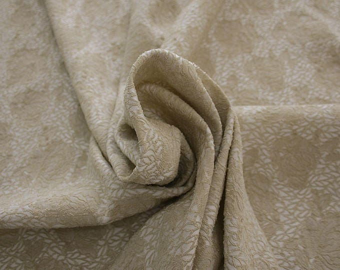 990091-007 JACQUARD-Pl 86%, Pa 12, Ea 2, 150 cm wide, manufactured in Italy, dry cleaning, weight 368 gr, price 1 meter: 57.17 Euros