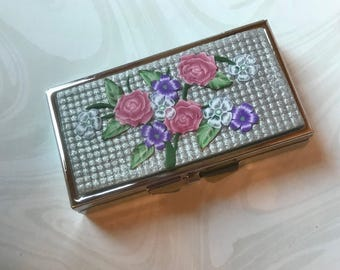 Pill Box, Polymer Clay