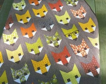 Fancy Fox Quilt Pattern by Elizabeth Hartman