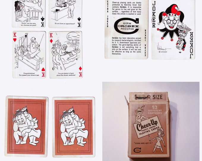 """Playing Cards: """"Cheer-Up"""" Hospital Humor"""