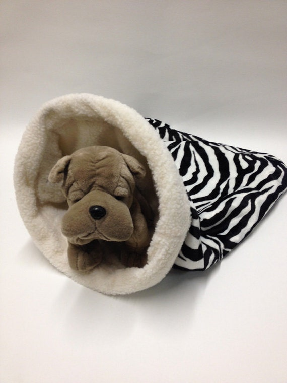 Snuggle Den Pet Bed Sleeping Bag Den Burrow Bed Dog