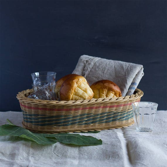 French Tricouleur Serving Basket