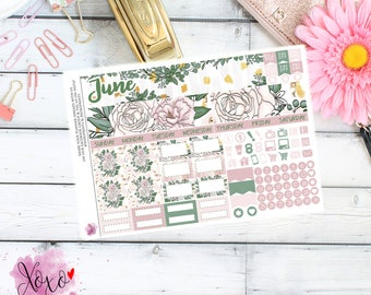 Forever Monthly Kit for your TN A6 Annie Plans Inserts