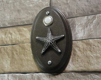 Doorbell Starfish Coastal Beach House Seastar Cottage