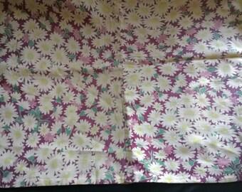 Vintage flowers 100pcs 40 fabric tape