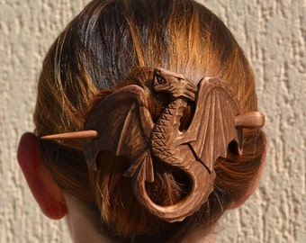 Game of Thrones Valentine's Game of thrones jewelry Best selling items Womens gift Wood Dragon Hair Barrette Hair Stick Mother of Dragons
