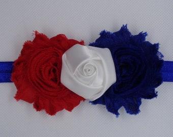 4th of July Flower Headband