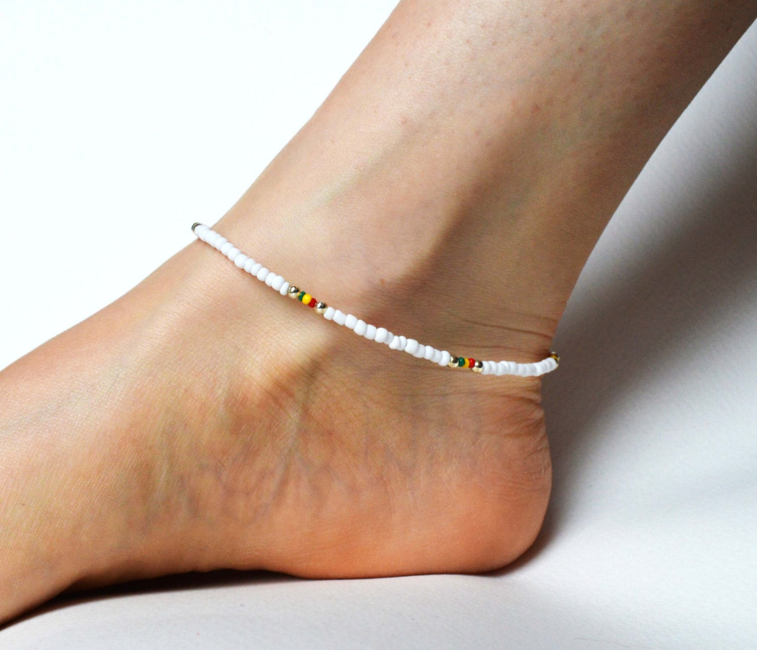 black today ankle bracelets jewelry rose free product pretty gold watches hills anklet overstock shipping bracelet