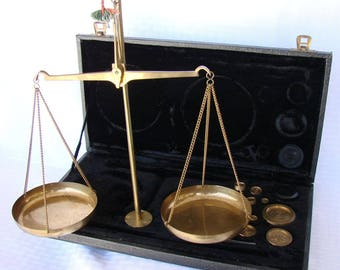 Vintage Scale - Case Scale Brass Scale