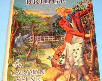 Nancy Drew #15 The Haunted Bridge 1950 DJ