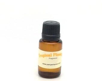 Sweet fresh tropical pineapple fragrance oil, fruity scented oil, summer fragrance oil, tropical fruit fragrance oil