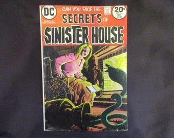 Secrets of Sinister House #14 D.C. Comics 1973