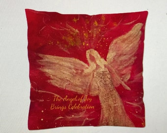 The Angel of Joy Pillow