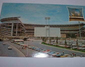 1964 NY World's Fair Shea Stadium Postcard