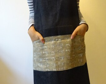 Shoulder Cross Apron