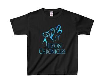 Ilyon Chronicles Blue Wolf Kids T-Shirt