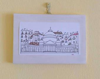 Naples illustrations