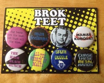 Peep show Band badges