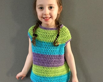 Natalie Tee Crochet Top