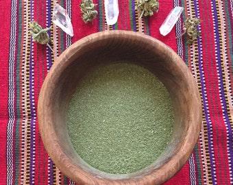Wild Food Nutritive Herb Salt - Herbal Seasoning Blend with wild greens and herbs- salt substitute-low salt blend