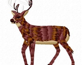 Deer Machine Embroidery Design - Instant Download