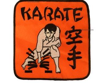 """Karate Patch for Karate Gi Uniform Karate Break Patch Martial Arts Embroidered Patch for T-Shirts-5""""x5"""""""