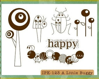 CLEARANCE Unity - Ippity Stamps - A Little Buggy