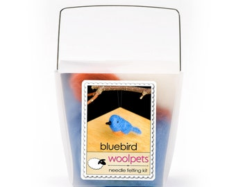 Bluebird Needle Felting Kit