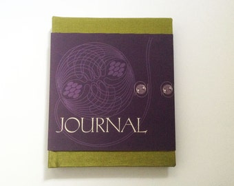 Journal, hand bound blank book