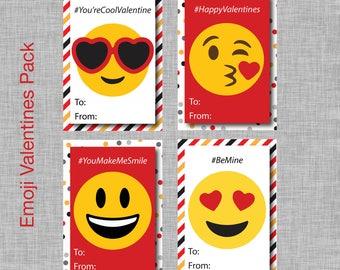 Emoji Valentine Cards, Emoji Valentines, Emoji Valentines Day Cards, Emoji Valentines Day Card, Kids Valentines, Valentines Day for Kids