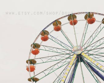 Fine Art Photograph, Ferris Wheel Photograph, Carnival Photos