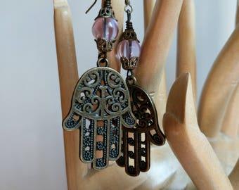 Alexandrite hand of Fatima