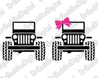 Sale! Jeep SVG Collection - Jeep DXF - Jeep Clipart - Svg Files for Silhouette Cameo or Cricut