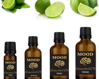 Lime essential oil natural aromatherapy essential oils