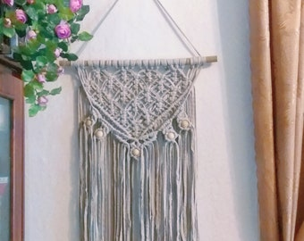 Macrame wall hanging decor wall art modern Macrame,boho art wall hanging,Macrame Tapestry woven,nursery decor,Boho Gift for women