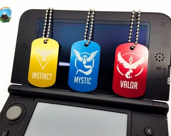 Pokemon GO Team Dog Tags