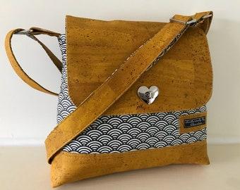 Across body bag , satchel ,mustard bag,grey bag vegan bag