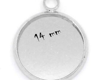 5 blank pendant tray (pr 14mm)