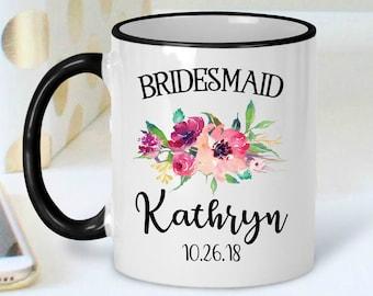 Bridesmaid Mug - Maid of Honor Gift - Bridesmaid Proposal Mug - Maid of Honor Mug - Bridal Party Gift - Bridesmaid Gift - Maid of Honor
