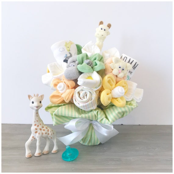 Gender neutral new baby gift bouquet new mom gift gender negle Gallery