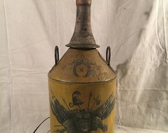 Antique Coat of Arms Lamp