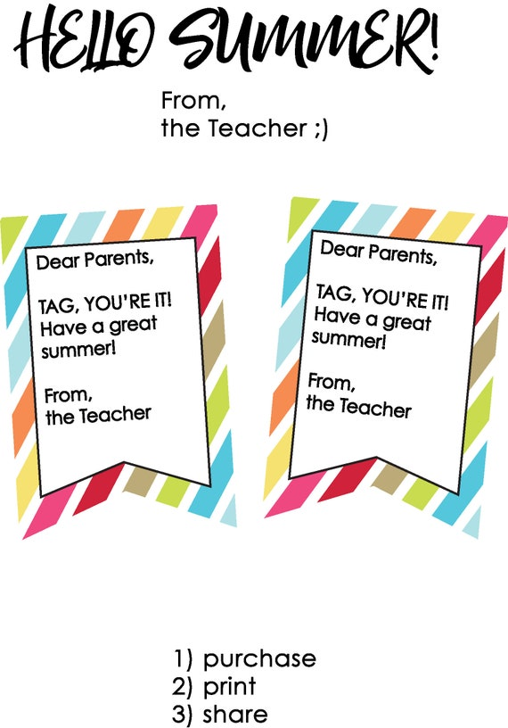 Schoolu0027s Out For Summer Teacher Gifts Teacher