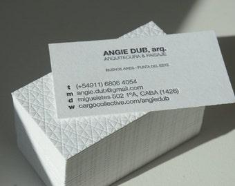 Letterpress business cards crane lettra paper 600 gsm 1 letterpress business cards crane lettra paper 220 lbs 2 colors colourmoves